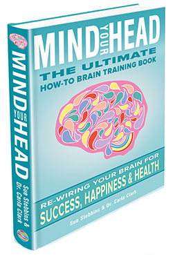 Mind Your Head Brain Training Book by Sue Stebbins and Carla Clark