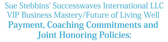 Successwaves Coaching Joint Partnering Policies